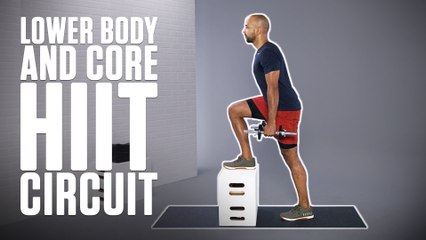 HIIT Circuit for Lower Body and Core Strength with Frank Baptiste