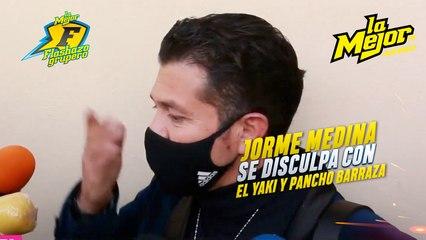 Jorge Medina se disculpa con El Yaki y Pancho Barraza