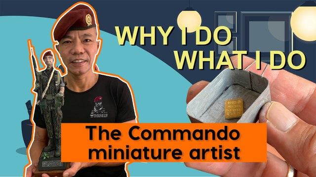 Why I Do What I Do: The Commando miniature artist
