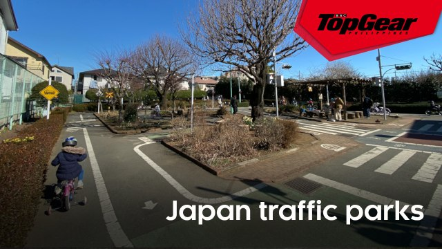 These 'traffic parks' in Japan teach kids about road safety and basic traffic rules