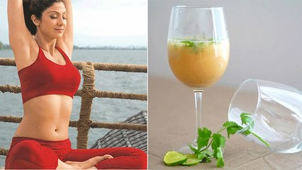 Shilpa Shetty की इस Drink में छिपा है Weight Loose का Secret | Boldsky
