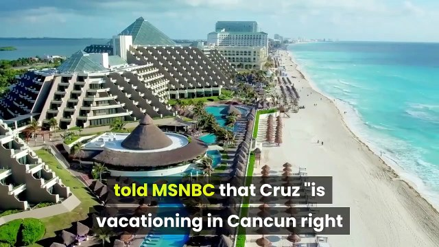 Ted Cruz Took His Kids to Cancun to Be a 'Good Dad' Confirms Return to