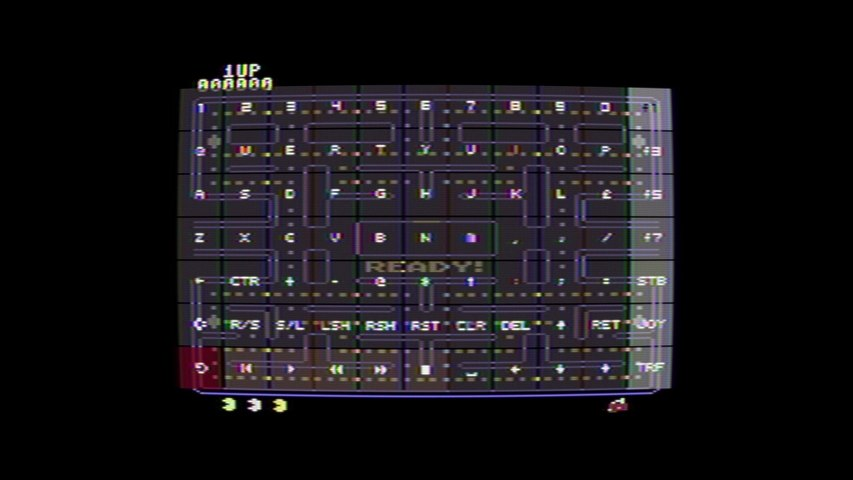 Pac-Man (1983) [C64] - RetroArch with VICE x64sc, accurate