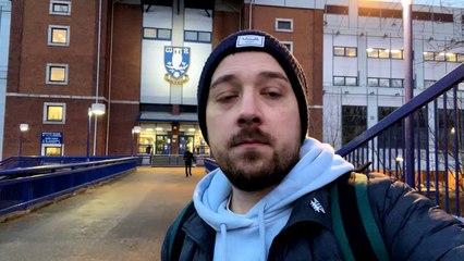 Joe Crann after Sheffield Wednesday's Birmingham defeat