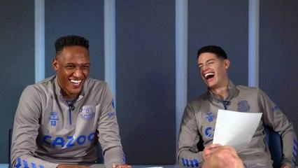 De  James a Mina, cuestionario en Everton
