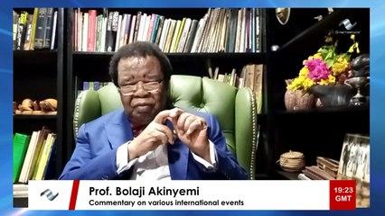 Prof. Bolaji Akinyemi speaks on Egypt and Human Rights