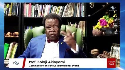 Prof. Bolaji Akinyemi's poignant message on the Ebola outbreak in the Democratic Republic of Congo