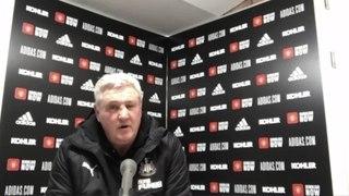 Bruce on Newcastle's 3-1 Utd defeat