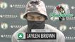 Jaylen Brown Postgame Interview   Celtics vs. Pelicans