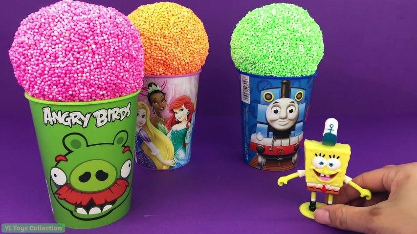 Paw Patrol Play Foam Surprise Cups I FROZEN 2 Angry Birds Spongebob Barbie PJ Masks Toy Story