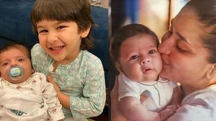 Kareena Saif का छोटा बेटा दिखता है ऐसा, नाना Randhir Kapoor ने बताया Taimur की Copy । Boldsky