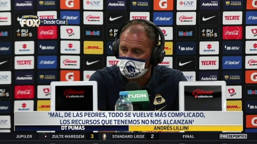 """""""Los recursos que tenemos no nos alcanzan"""", Andrés Lillini: Liga MX"""