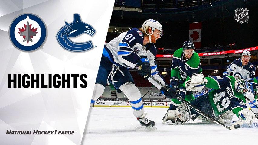 Jets @ Canucks 2/21/21 | NHL Highlights