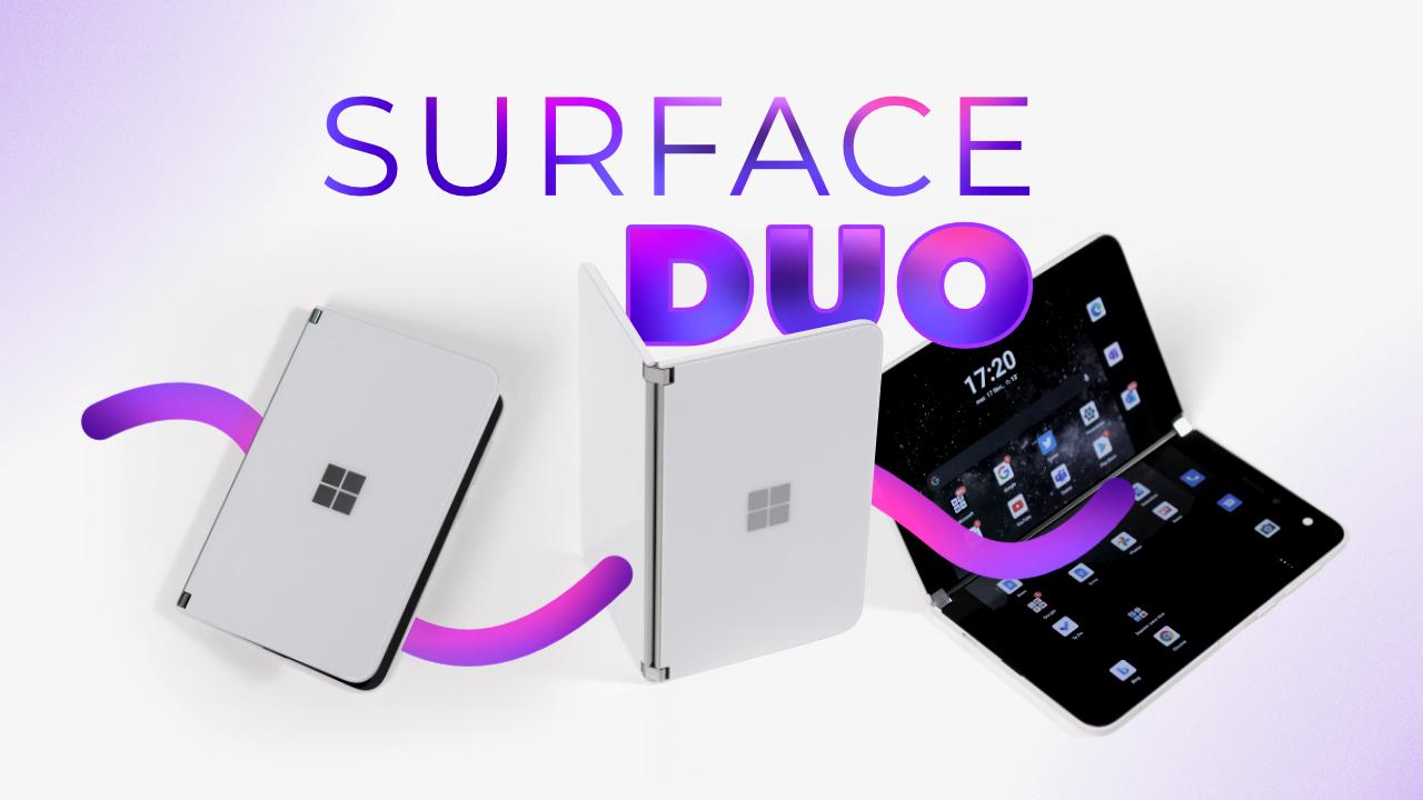 Test Microsoft Surface Duo - La productivité à TOUT PRIX !