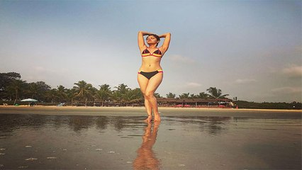 Rubina Dilaik ने Bikini पहन मचाया धमाल, लगी बला की खूबसूरत | Boldsky