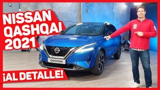 VÍDEO: Nissan Qashqai 2021, así es la tercera generación, detalle a detalle
