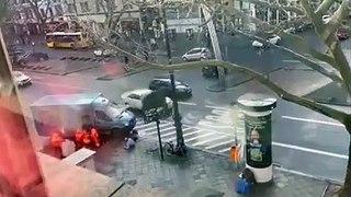Elle filme le braquage d'un fourgon blindé depuis sa fenêtre à Berlin