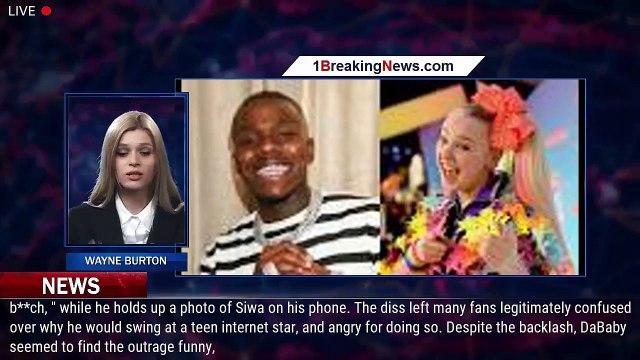 Twitter Reacts After DaBaby Randomly Disses JoJo Siwa in New ... - 1BreakingNews.com