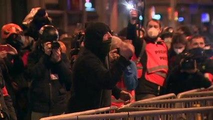 Séptima noche de disturbios y altercados en Cataluña