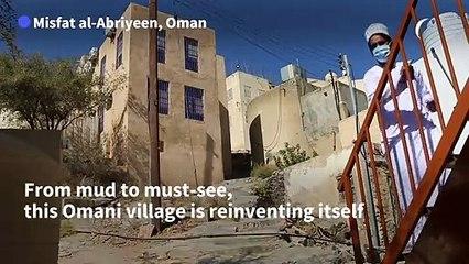 Boutique mud houses change fortunes of Omani village
