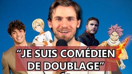 Arnaud Laurent dévoile les coulisses du doublage (Fairy Tail, Noah Centineo)