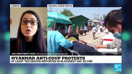Myanmar anti-coup protests: multiple fatalities reported