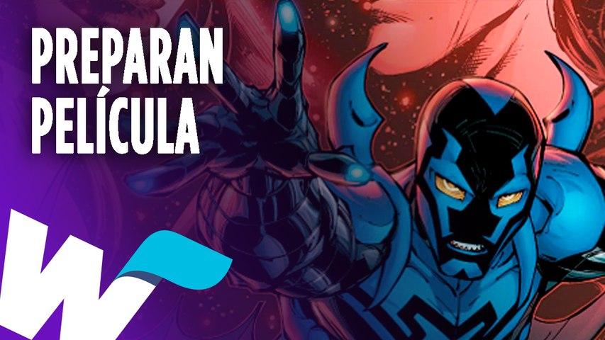 DC Comics prepara película sobre Blue Beetle.