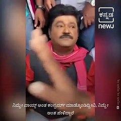 Challenging Star  Darshan's Fans Demand Apology From Navarasanayaka Jaggesh