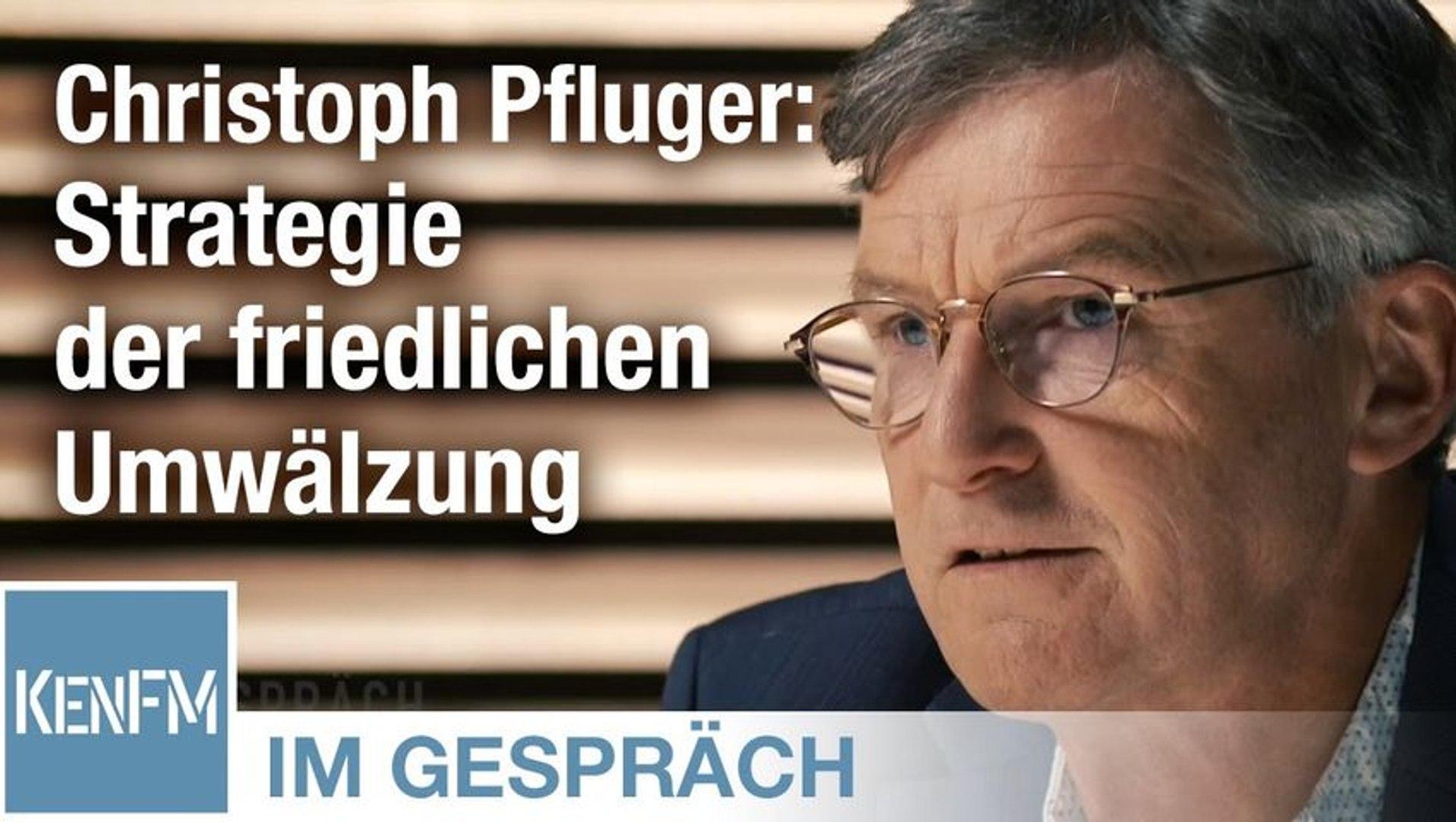 """Im Gespräch: Christoph Pfluger (""""Die Strategie der friedlichen Umwälzung"""")"""