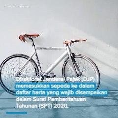 Sepeda Wajib Dimasukkan dalam Daftar Harta di SPT Pajak Tahunan