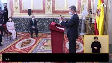 El Rey preside el aniversario del 23F, 'plantado' por los independentistas