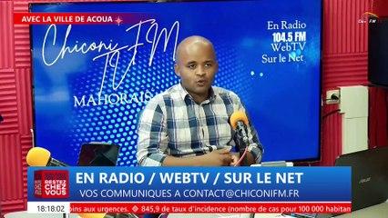 CHICONI FM TV - Avec la revue de l'actualité de ce mardi 23 février 2021
