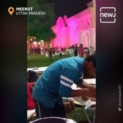 Man Caught Spitting On Food He Was Preparing For Wedding Guests