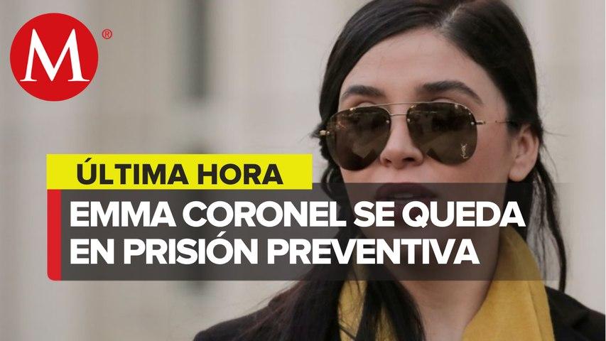 En Eu, dan prisión preventiva a Emma Coronel por narcotráfico