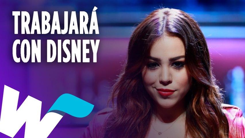 Danna Paola será la voz de 'Raya' en la próxima película de Disney.