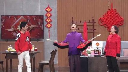 """春晚魔术""""上新""""啦!巩汉林 薇娅 张嘉倪《喜从天降》敲开魔幻世界的大门"""