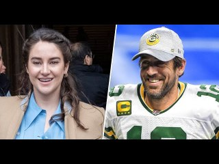 Shailene Woodley engaged to Aaron Rodgers says she's 'still learning'