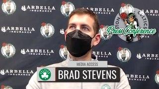 Brad Stevens Postgame Interview   Celtics vs. Mavericks