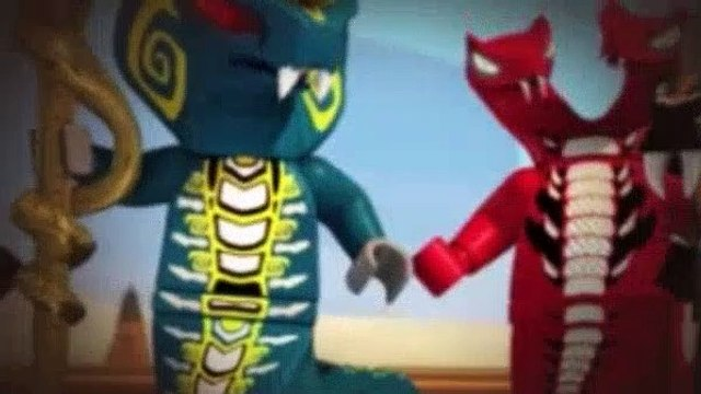 LEGO NinjaGo Masters Of Spinjitzu Season 2 Episode 8 The Day Ninjago Stood Still
