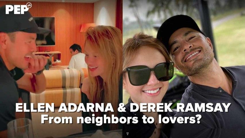 Ellen Adarna, Derek Ramsay: neighbors to lovers? | PEP Hot Story