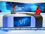 A la Une : Un air de Sahara dans la Loire / La Région au chevet des étudiants / Les agriculteurs vont manifester / - Le JT - TL7, Télévision loire 7