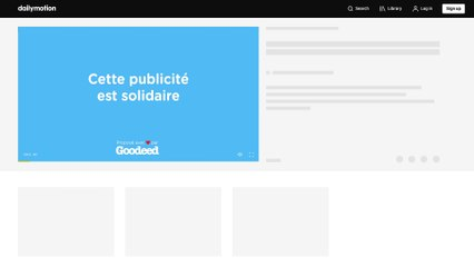Préroll Solidaire by Nroll & Goodeed
