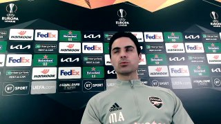 Arteta admits Europa League is Arsenal's target
