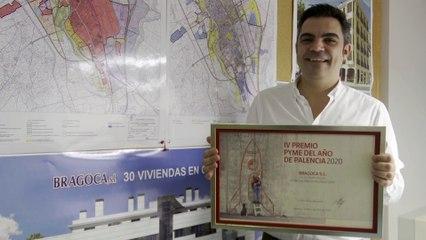La constructora Bragoca recibe el Premio Pyme del Año de Palencia 2020
