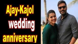 Ajay Devgn and Kajol Celebrate 22nd wedding anniversary