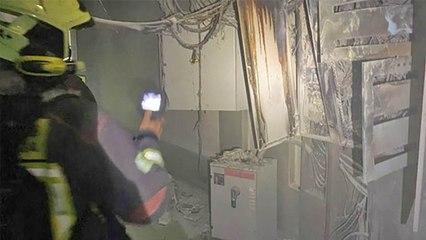 Incendio en residencia de mayores de Estepona