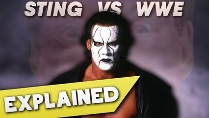 Sting: The Vigilante vs WWE, Explained
