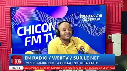 Chiconi FM TV - Avec la revue de l'actualité de ce mercredi 24 février 2021.