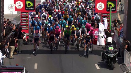 Résumé 3ème étape UAE Tour