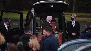 Kilmarnock - Funeral of Emma Robertson Coupland and her daughter Nicole Anderson